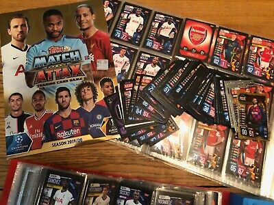 Topps Match Attax 2019/20 Champions/Europa League Base Cards - 10 for £1