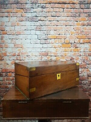 Vintage Slope Writing Box , Desk Box For Restoration