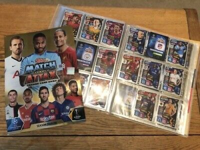 Topps Match Attax 2019/20 Shiny/Foil Cards MOTM, Club MVP, Club Legends and UCL
