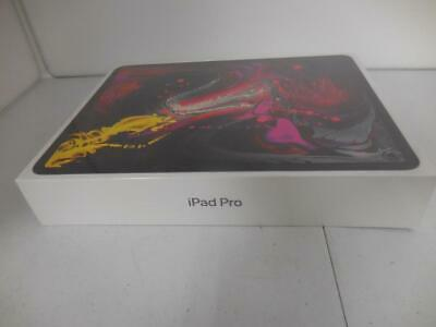 APPLE iPad Pro 3rd Gen 256GB Wi-Fi Cellular Space Gray 12.9 in. SEALED