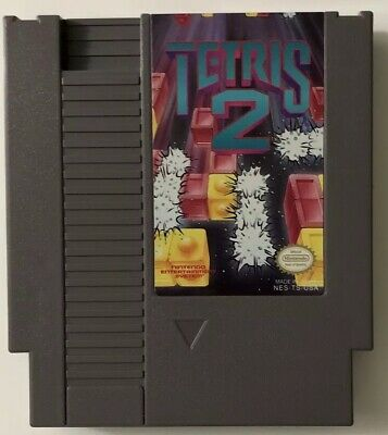 Tetris 2 (Nintendo Entertainment System, 1993) NES Game Cartridge FREE SHIPPING!