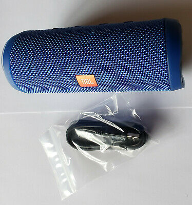 JBL Flip 4 Portable Stereo Wireless Bluetooth Speaker - BLUE - Refurbished
