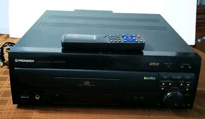 Pioneer CLD-D703 LaserDisc Player Good Condition Works with Remote