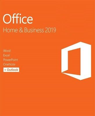 Office 2019 Home and Business - 1 PC - Dauerlizenz - Vollversion - Multilingual
