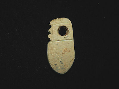 Pre-Columbian Effigy Pendant, Central America, Authentic, Ancient Pendant