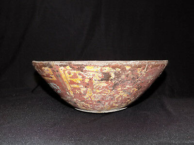 Pre-Columbian Chupicuaro Polychrome Bowl, Rare Colors, Authentic Mesoamerica,