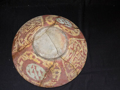 Pre-Columbian Rare Chupicuaro Polychrome Bowl, Authentic Mesoamerica,