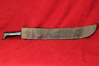WW2 Machete in U.S. Boyt 42 Scabbard