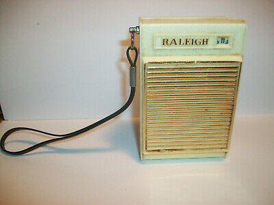 Raleigh  6 Transistor Super Het. AM Radio Working condition Used.Vintage