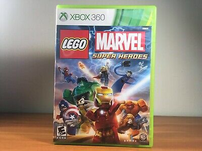 LEGO Marvel Superheroes (Microsoft Xbox 360, GAME) Tested