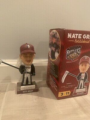 WISCONSIN TIMBER RATTLERS SGA BOBBLEHEAD NATE GRIEP MAY 6,2017 Milwaukee Brewers