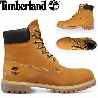 "TIMBERLAND Mens 6"" Premium Waterproof Boots Original Iconic Shoes US SIZING"