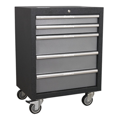 APMS58 Sealey Modular 5 Drawer Mobile Cabinet 650mm Storage Systems