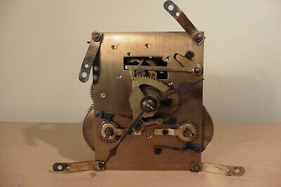 Vintage British Striking Clock Movement Made in England with Hands