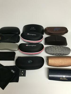 Details about Ray Ban 2 Hard Cases and cloth Original Rayban Optical eyeglasses Case Lot