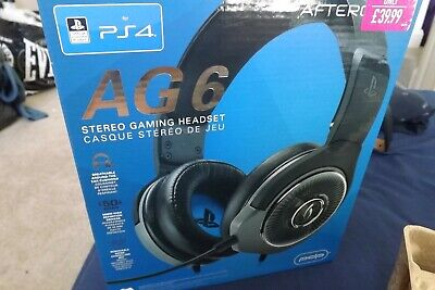 Afterglow AG6 PS4 & PC Headset - Black playstation 4 gaming headset