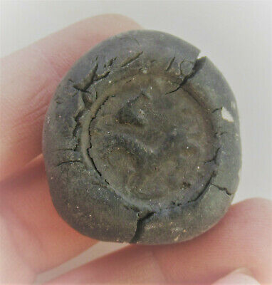 Unresearched Ancient Near Eastern Seal Stamp Horse Impression