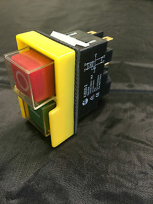 Safety Switch for Workshop Machines KEDU KJD20-2 NVR Stop Start Switch K1m