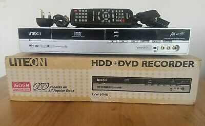 Liteon LVW-5045 HDD+DVD Recorder 160GB Boxed + Remote GWC