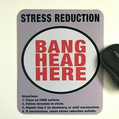 mouse mat pad stress reduction laptop office quality made in UK