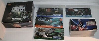Star Wars Return Of The Jedi Topps Widevision Trading Cards