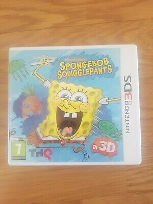 SpongeBob SquigglePants in 3D (Nintendo 3DS) - Game  40VG The Cheap Fast Free