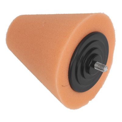 PTCCHC85O Sealey Buffing & Polishing Foam Cone Orange/Firm [Buffing & Polishing]