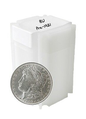 Pre 1921 Silver Morgan Dollar BU Lot of 10 S$1 Coins *Credit Card Payment Only