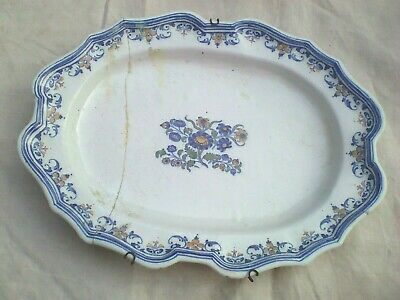 Ancien plat Moustiers