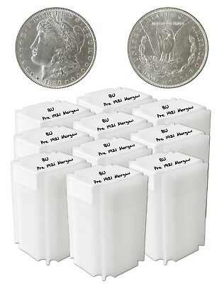 Pre 1921 Silver Morgan Dollar BU Lot of 200 S$1 Coins *Credit Card Payment Only