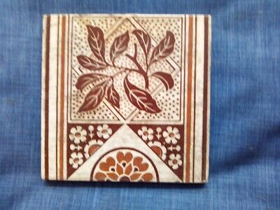 Victorian Aesthetic Movement tile