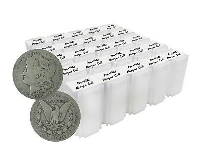 Pre 1921 Silver Morgan Dollar Cull Lot of 500 S$1 Coins *Credit Card Pmt Only