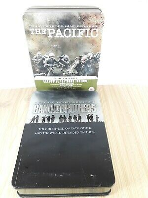 Pacific & Band Of Brothers Tin Edition DVD Epic Series TOM HANKS Spielberg