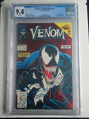 Venom: Lethal Protector #1 CGC 9.4 NM White Pages Graded 1st Solo Story