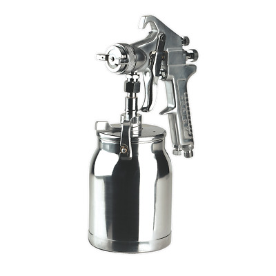 SSG1 Sealey Spray Gun Suction Deluxe Professional 1.8mm Set-Up