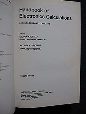 Handbook of Electronics Calculations: For Engineers and Technicians [Feb 01, 1..