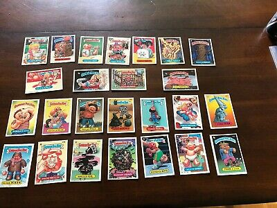 Garbage Pail Kids Topps Cards 1980's No Doubles 25 Ben Bolt Numb Nate Boris