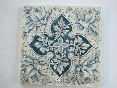 Antique Victorian Blue Aesthetic Wall Tile - Des.reg.180680  C1891