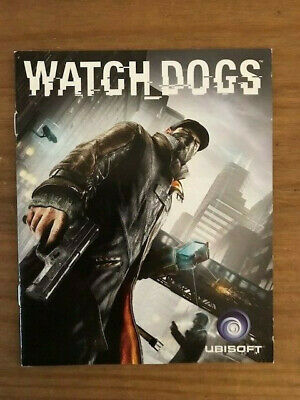 PlayStation 3 - Watch Dogs Instruction Manual Only PS3