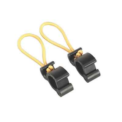 TARP/2 Sealey Tarpaulin Clips 2pc [Tarpaulins] Tarpaulins Trailer Accessories