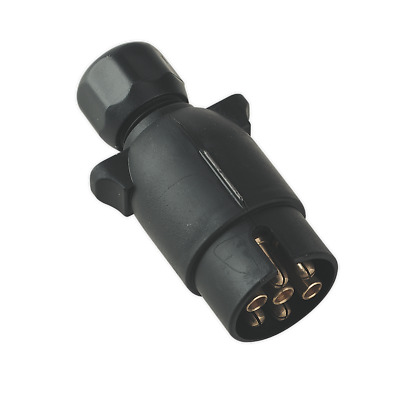 TB05 Sealey Towing Plug N-Type Plastic 12V [Towing Accessories]