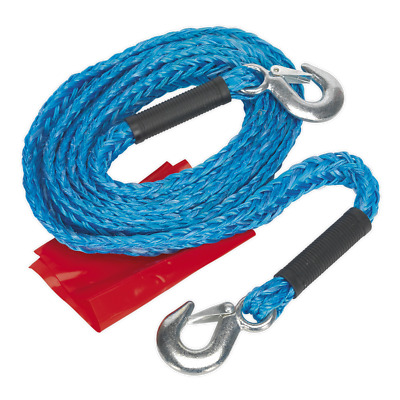 TH2002 Sealey Tow Rope 2tonne Rolling Load Capacity [Tow Poles & Ropes]