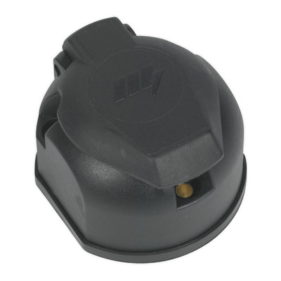 TB52 Sealey Towing Socket 13-Pin Euro Plastic 12V [Towing Accessories]