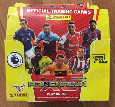PANINI ADRENALYN XL PREMIER LEAGUE 2019/20 -  BOX Of 50 Sealed Packs