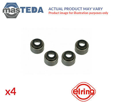4x ELRING VALVE STEM SEAL SET 010270 P NEW OE REPLACEMENT