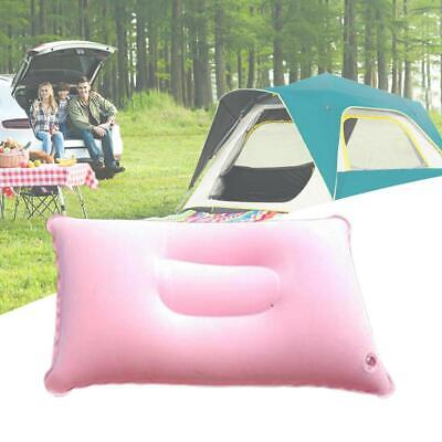 Portable Ultralight Inflatable Air Pillow Cushion Travel Camping Rest Hikin U9Z2