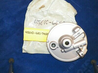 Honda Brake Panel, Front, Part #45010-GE1-740ZA