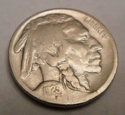 """1923 S Indian Head """"Buffalo"""" Nickel  *Ag Or Better*   **Free Shipping**"""