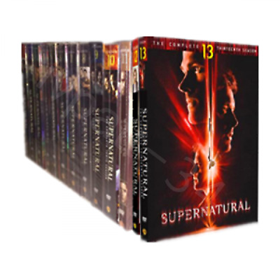 Supernatural The Complete Series Season 1-13 DVD 72 DISCS FREE SHIPPING NEW