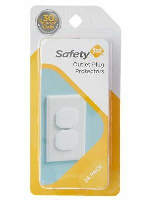 Safety 1st - Outlet Plug protectors (24 Pk) Baby Electrical Child proofing